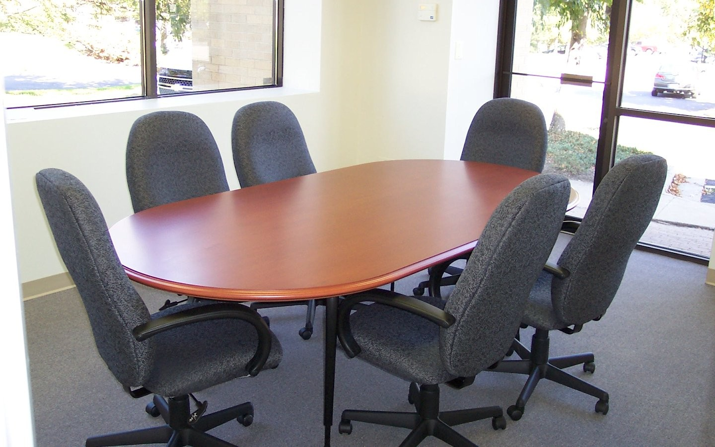 Conference Table - Racetrack Custom Table