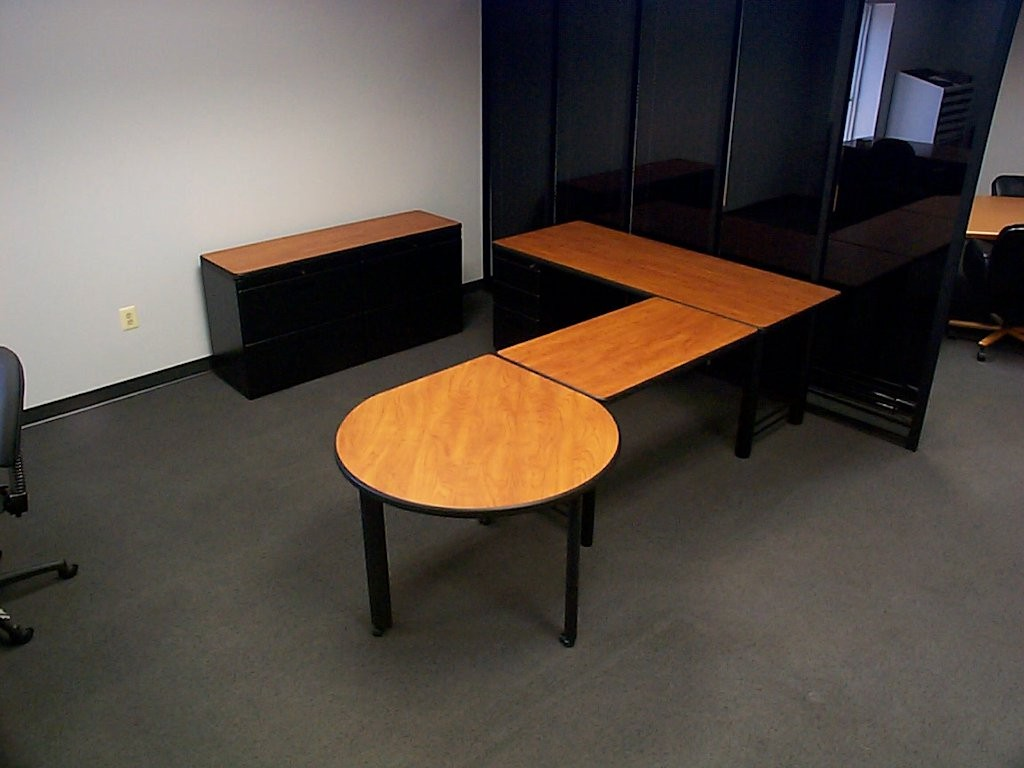 Office Square and Round Custom Tables