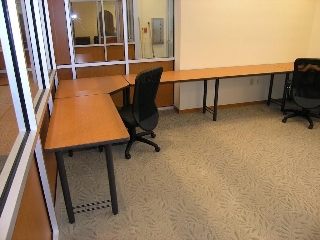 Corner Table - Custom Workspace