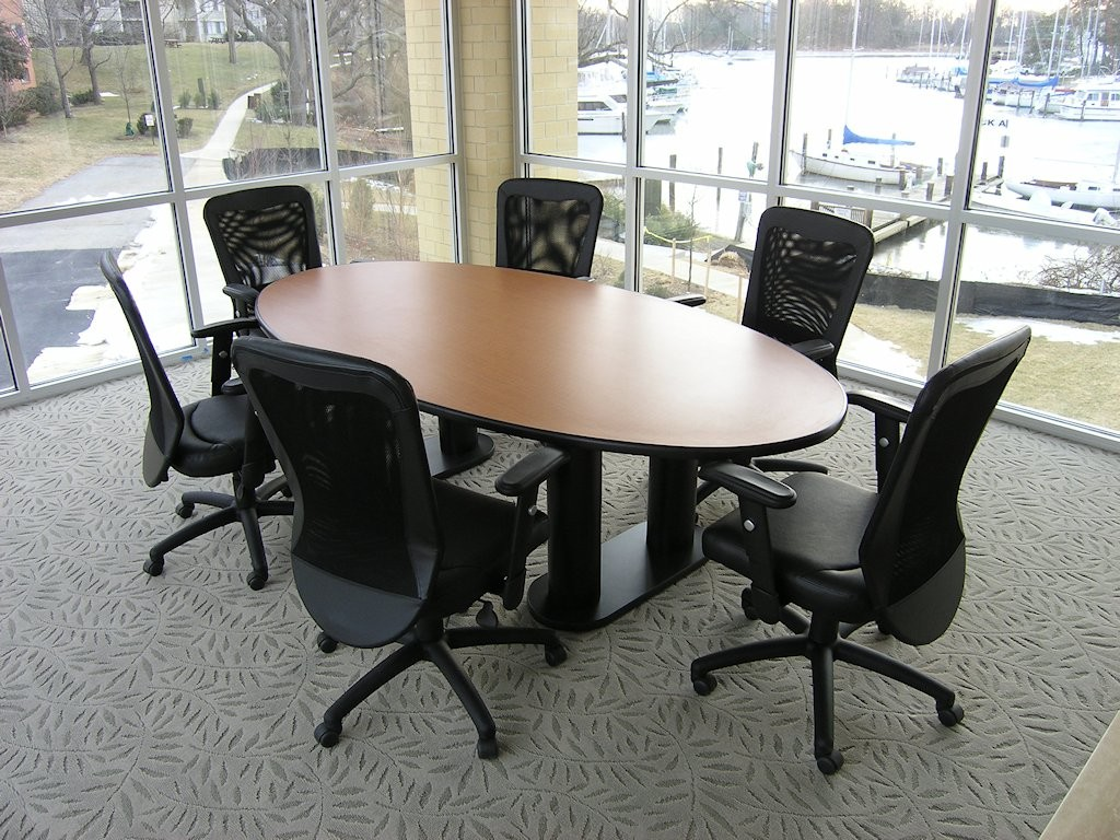 Conference Oval Custom Table